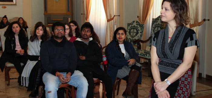 MODENA: IN MUNICIPIO GLI STUDENTI DI INTERNATIONAL MANAGEMENT