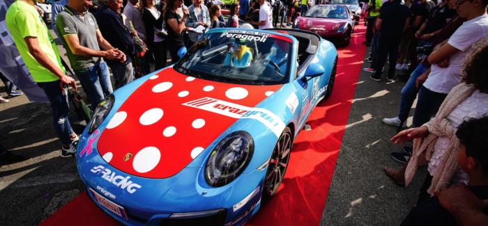 """MODENA: ALL'AUTODROMO LE SUPERCAR DELLA """"CRAZY RUN"""""""