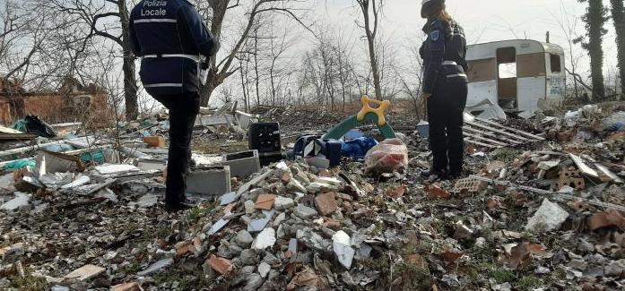 BOLOGNA: EX PODERE TRASFORMATO IN DISCARICA