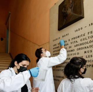 MODENA: STUDENTI AL LAVORO AL MUSEO CIVICO